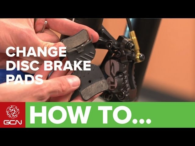 how to replace your disc brake pads gcn. Black Bedroom Furniture Sets. Home Design Ideas