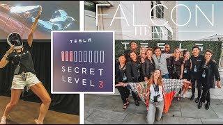 Inside A SECRET LEVEL Tesla Event!