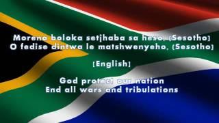 South African Nation Anthem (Lyrics + English Translation)