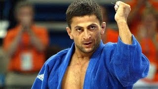 Zurab Zviadauri at the Athens Olympic Games 2004