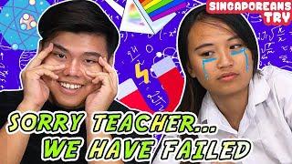 Singaporeans Try: 'O' Level Physics