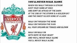 LIVERPOOL-YOU'LL NEVER WALK ALONE versi rock