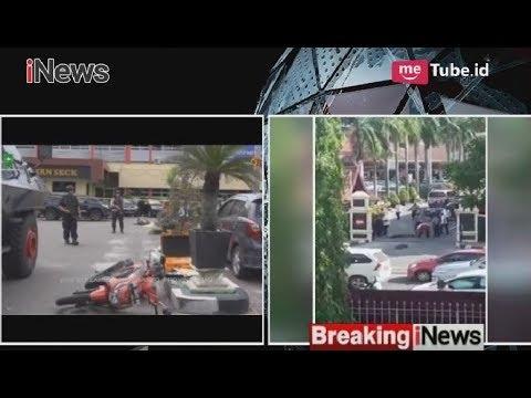 Suasana Mapolda Riau Pasca Diserang Empat Orang Terduga Teroris - Breaking News 16/05