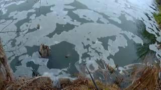 Рыбалка у плотины спиннинг