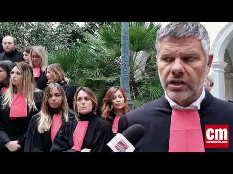VIDEO. Le bâtonnier Jean Paul Eon s'exprime sur le boycott de l'audience de rentrée du tribunal judiciaire de Bastia