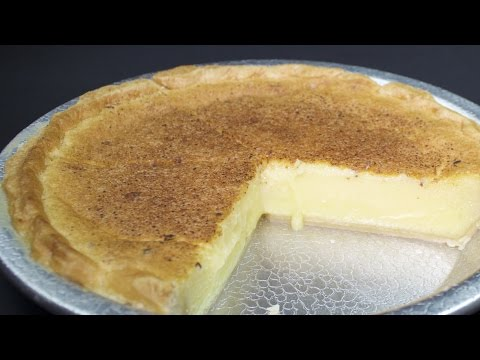 Video Buttermilk Pie Recipe with Michael's Home Cooking