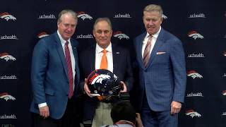 Vic Fangio introduced as Broncos head coach