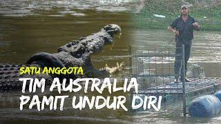 Satu Anggota Tim Penyelamat Australia Undur Diri, Nyaris Tangkap Buaya Berkalung Ban di Palu
