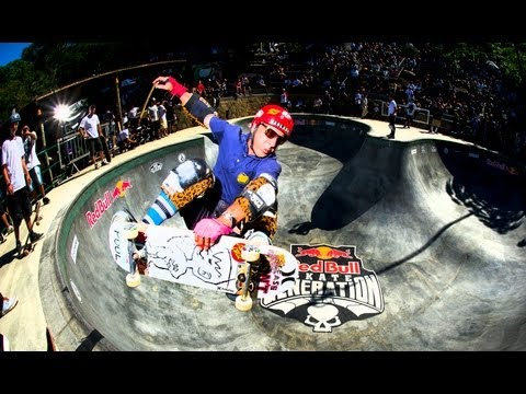 Front Yard Bowl Sessions - Red Bull Skate Generation 2013