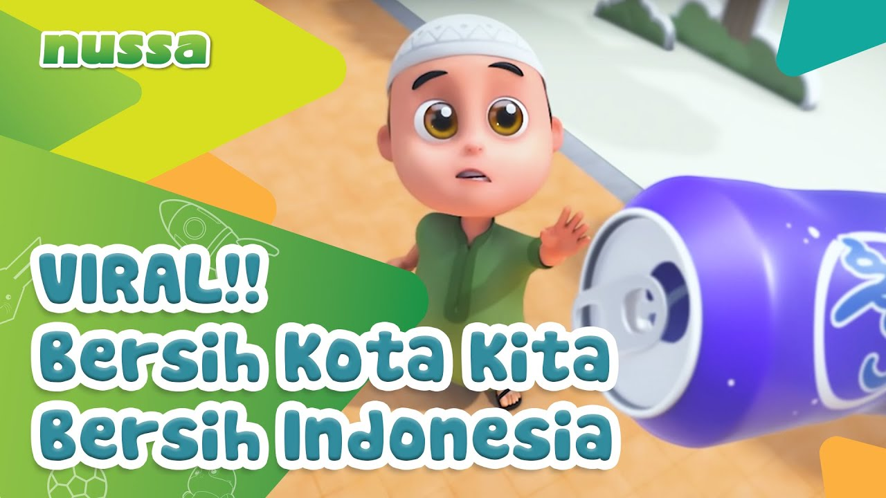 Viral!!! Bersih Kota Kita Bersih Indonesia