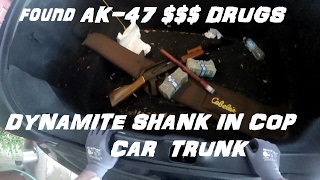 Broke into cop car trunk and found ak47 $$ drugs crown rick auto p71vic victoria police interceptor - Video Youtube