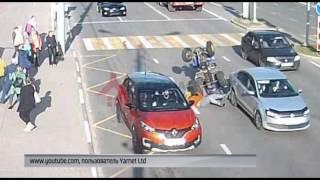 В сети появилось видео ДТП с участием квадроцикла в Ярославле