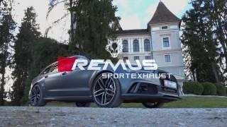 Video: Remus Komplettanlage mit Klappensteuerung am Audi RS6 4G