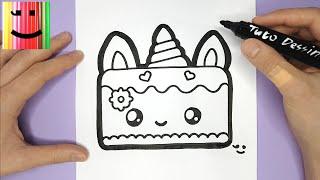 Licorne Emoji Dessin Kawaii Facile