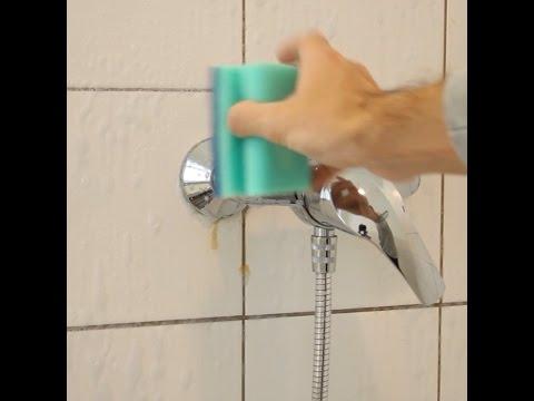 So leicht kann man seine Dusche sauber bekommen - und das sogar hautschonend. Ich bin begeistert!