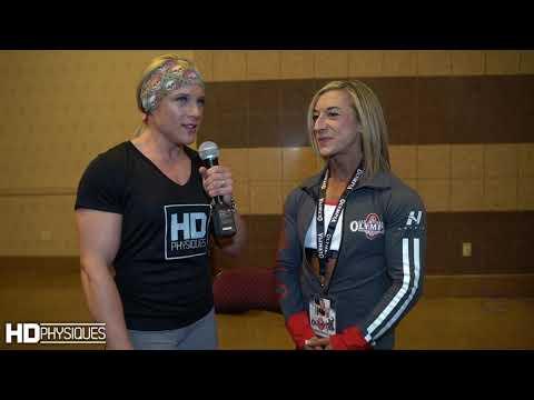 IFBB Pro Sarah Villegas, Road to Olympia 2018 - смотреть