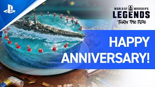 World of Warships: Legends – Happy Anniversary, Legends!   PS4