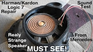 Harman/Kardon Logic7 Speaker Repair and Sound Test
