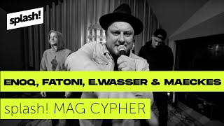 Splash! Mag Cypher #22: Enoq, Fatoni, Edgar Wasser & Maeckes @ Red Bull Studios Berlin
