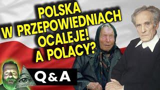 Polska w Przepowiedniach Ocaleje. A Co z Polakami? – Analiza Ator Bank Baba Wanga Ojciec Klimuszko.