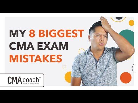 CMA Exam Prep - AVOID 8 BIGGEST MISTAKES - YouTube