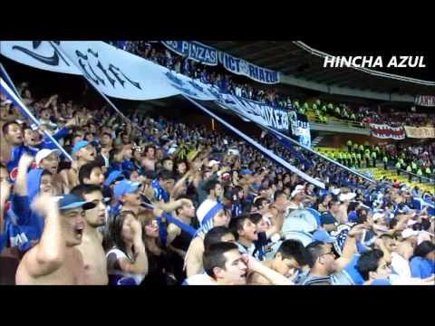 """""""Millonarios Vs santa fe - Desde las Tribunas - Blue Rain"""" Barra: Blue Rain • Club: Millonarios"""