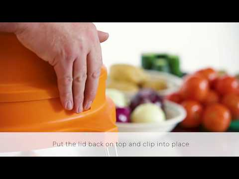 Dynacube CP177 Manual Vegetable Chopper with 17mm Blade Set Product Video