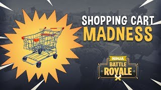 Shopping Cart Madness!! - Fortnite Battle Royale Gameplay - Ninja & TimTheTatman