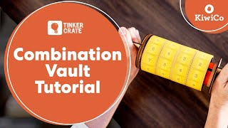 Make A Combination Vault - Tinker Crate Project