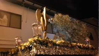 preview picture of video 'Semana santa Villarrubia de los ojos 2013. Llegada a la capilla. Oración en el huerto'