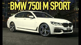 The NEW BMW 750i REVIEW