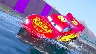UNDERWATER PARKOUR NEXT GEN CARS 3 RACE