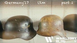 Каски, шлемы и средневековое антикварное оружие на выставке в Германии (Ульм 1 часть).