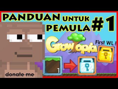 Video PANDUAN BAGI PEMULA #1 | ROAD TO WORLD LOCK XD ! | - Growtopia Indonesia