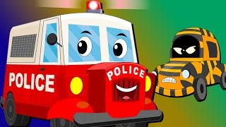 Ralph And Rocky | Police Car | Car Song And  Rhymes For Children
