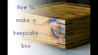 Making A Keepsake Box // Woodworking // DIY // How To