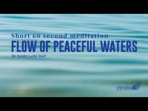 Flow of Peaceful Waters