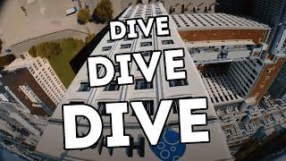 #fpvtoothpick // Dive Dive Dive // insta360 Go FPV Mode