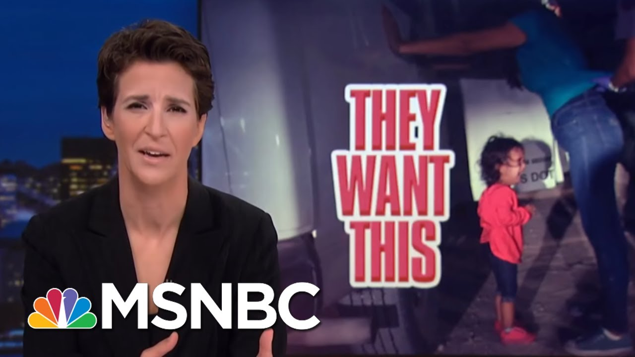 Donald Trump Cruel To Migrant Kids To Drive Immigration Political Wedge   Rachel Maddow   MSNBC thumbnail