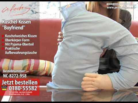 "infactory Kuschel-Kissen ""Boyfriend"""