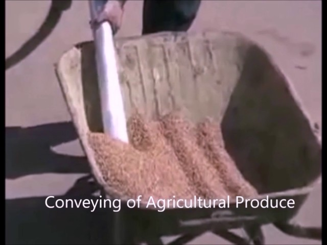 conveying of agricultural ...