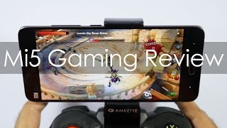 Xiaomi Mi 5 Gaming Review with Popular Games & Temp Check
