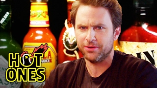 Video Charlie Day Learns to Love Ridiculously Spicy Wings | Hot Ones MP3, 3GP, MP4, WEBM, AVI, FLV Agustus 2019