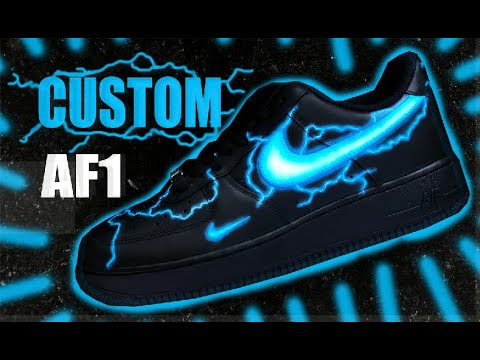CUSTOM Air Force 1 !! - Jordan Vincent