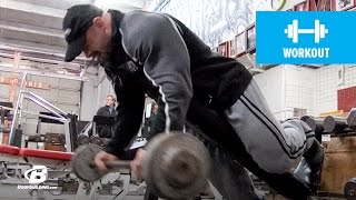 Branch Warren's Brutal Arm Workout | 2011 Road to the Arnold (HD) by Bodybuilding.com