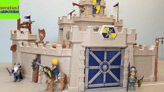 Playmobil Große Burg von Novelmore 70220 auspacken seratus1 unboxing