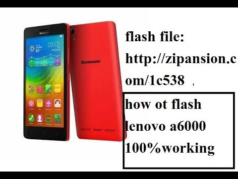 How To Flash Lenovo A6000 Lollipop Stock Rom Right Method