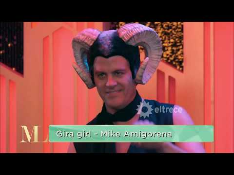 Lo más bizarro que se ha visto en TV: Mike Amigorena cantando en lo de Mirtha