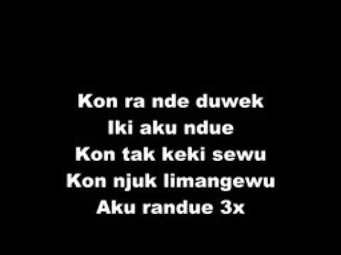 OJO MINGGAT FlashLight GAMELAN Cover Lyrics Mp3