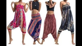 How To Make Harem Pants With Pockets Cutting And Stitching DIY